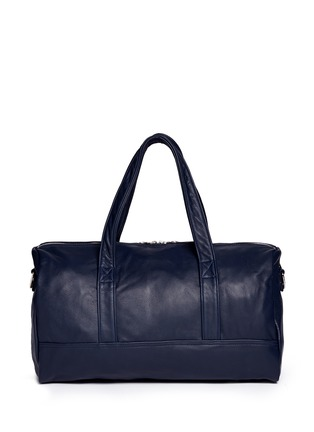 Back View - Click To Enlarge - MEILLEUR AMI PARIS - 'Bel Ami' leather duffle bag