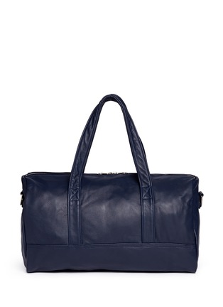 Main View - Click To Enlarge - MEILLEUR AMI PARIS - 'Bel Ami' leather duffle bag