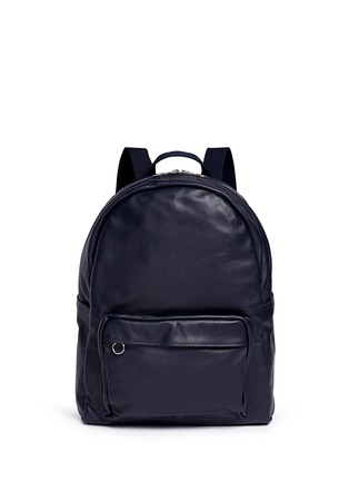 Main View - Click To Enlarge - MEILLEUR AMI PARIS - 'Sac A Dos' leather backpack