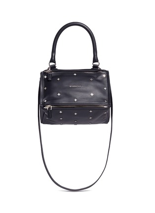 Main View - Click To Enlarge - Givenchy - 'Pandora' small cross stud leather bag