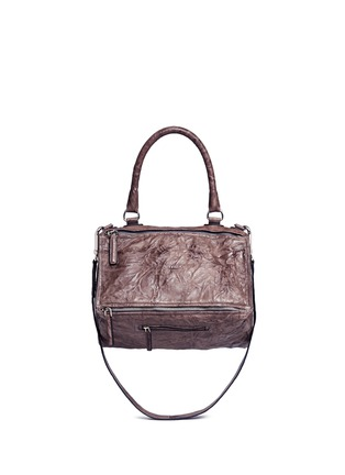 Main View - Click To Enlarge - Givenchy - 'Pandora' medium Pepe sheepskin leather bag