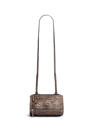 Main View - Click To Enlarge - Givenchy - 'Pandora' mini pepe sheepskin leather bag
