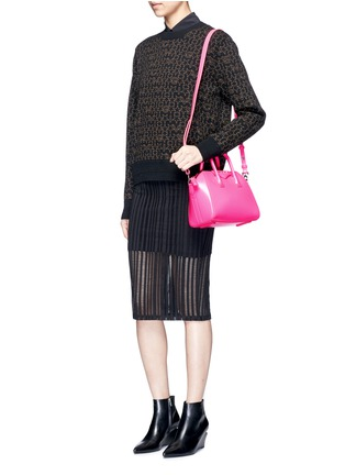 Figure View - Click To Enlarge - Givenchy - 'Antigona' mini leather bag