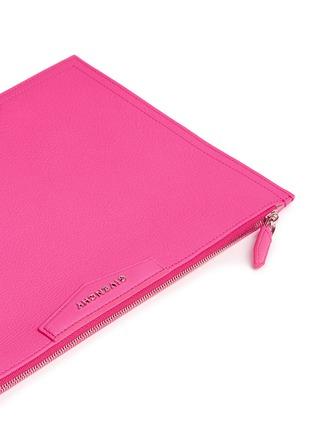 - Givenchy - 'Antigona' large leather zip pouch