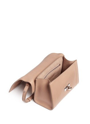 Detail View - Click To Enlarge - Givenchy - 'Shark' mini leather shoulder bag