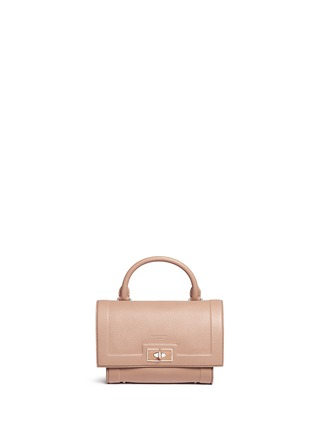 Main View - Click To Enlarge - Givenchy - 'Shark' mini leather shoulder bag