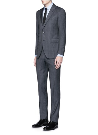 Figure View - Click To Enlarge - LANVIN - 'Attitude' speckled check wool suit