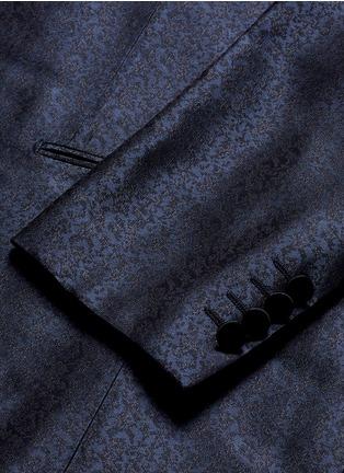 Detail View - Click To Enlarge - Lanvin - 'Evolution' silk jacquard tuxedo blazer