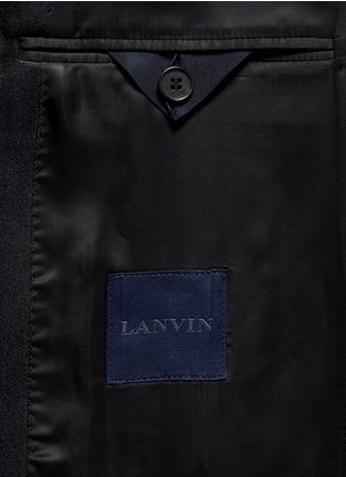 - Lanvin - 'Evolution' silk jacquard tuxedo blazer