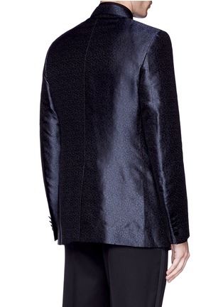 Back View - Click To Enlarge - Lanvin - 'Evolution' silk jacquard tuxedo blazer