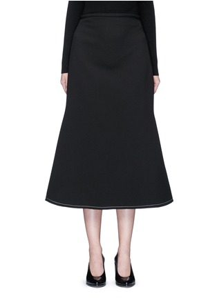 Main View - Click To Enlarge - Ellery - 'Beedee' cady flute skirt