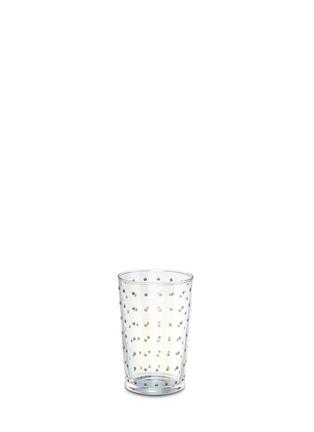 Main View - Click To Enlarge - KHMISSA MOROCCO DESIGN - Plumetis tea glass