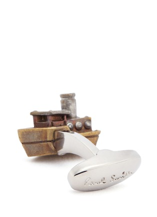 Detail View - Click To Enlarge - Paul Smith - Ferry boat cufflinks