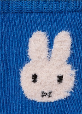 Detail View - Click To Enlarge - ETIQUETTE CLOTHIERS - x Miffy intarsia kids socks