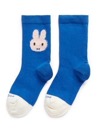 Main View - Click To Enlarge - ETIQUETTE CLOTHIERS - x Miffy intarsia kids socks