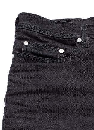 - NEIL BARRETT - Biker raw denim skinny jeans
