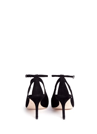 Back View - Click To Enlarge - COLE HAAN - 'Selma' suede pumps