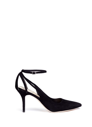 Main View - Click To Enlarge - COLE HAAN - 'Selma' suede pumps