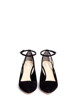 Figure View - Click To Enlarge - COLE HAAN - 'Selma' suede pumps