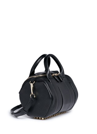 Figure View - Click To Enlarge - Alexander Wang  - 'Rockie' pebbled leather duffle bag