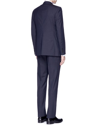 Back View - Click To Enlarge - Lanvin - 'Attitude' woven stripe wool suit
