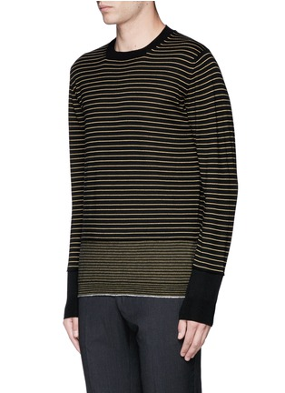 Front View - Click To Enlarge - Lanvin - Stripe Merino wool sweater
