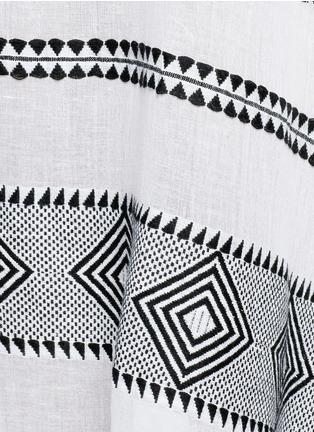Detail View - Click To Enlarge - Lemlem - 'Freya' tibeb embroidery long caftan