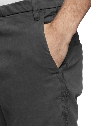 Detail View - Click To Enlarge - 1.61 - 'M.P.' well washed frayed cotton pants