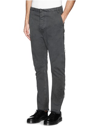 Front View - Click To Enlarge - 1.61 - 'M.P.' well washed frayed cotton pants