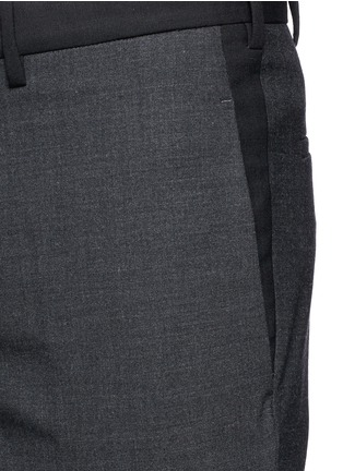 Detail View - Click To Enlarge - Neil Barrett - Stretch wool blend skinny fit pants