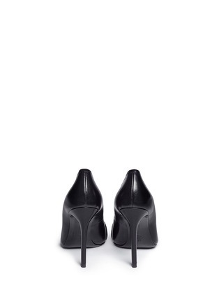 Back View - Click To Enlarge - Stella Luna - Turnlock bar leather pumps