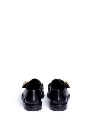 Back View - Click To Enlarge - Stella Luna - Turnlock monk strap leather shoes