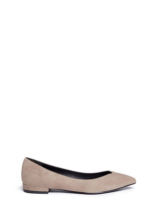 Main View - Click To Enlarge - Stella Luna - Suede skimmer flats