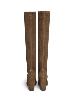 Back View - Click To Enlarge - Stella Luna - Suede knee high boots