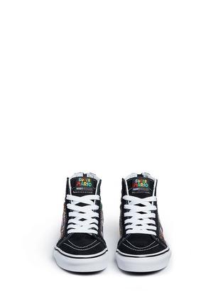 Figure View - Click To Enlarge - Vans - x Nintendo 'Sk8-Hi Zip' character print canvas kids sneakers