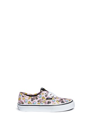 Main View - Click To Enlarge - Vans - x Nintendo 'Authentic' character print canvas kids sneakers