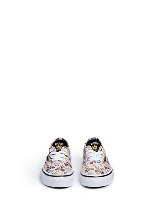 Figure View - Click To Enlarge - Vans - x Nintendo 'Authentic' character print canvas kids sneakers
