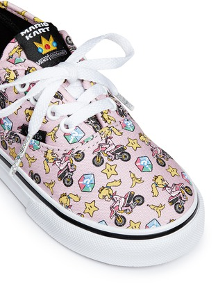 Detail View - Click To Enlarge - Vans - x Nintendo 'Authentic' character print canvas toddler sneakers