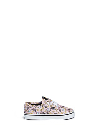 Main View - Click To Enlarge - Vans - x Nintendo 'Authentic' character print canvas toddler sneakers