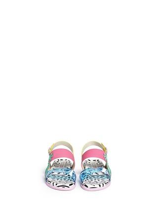 Figure View - Click To Enlarge - Sophia Webster - 'Becky' palm tree embellished leather toddler sandals