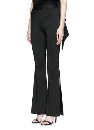 Front View - Click To Enlarge - C/Meo Collective  - ''Intentions' split cuff pants
