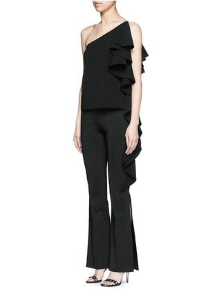 Figure View - Click To Enlarge - C/Meo Collective  - ''Intentions' split cuff pants