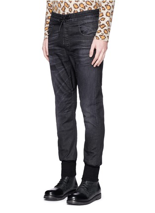 Front View - Click To Enlarge - R13 - 'New Rollins' drop crotch jogging pants