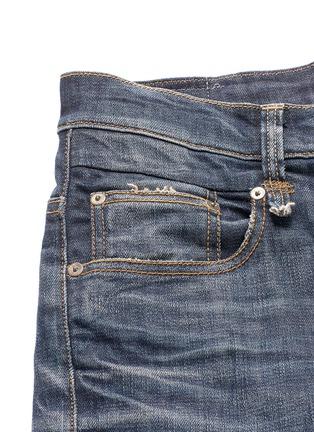 - R13 - 'Boy' distressed slim fit jeans