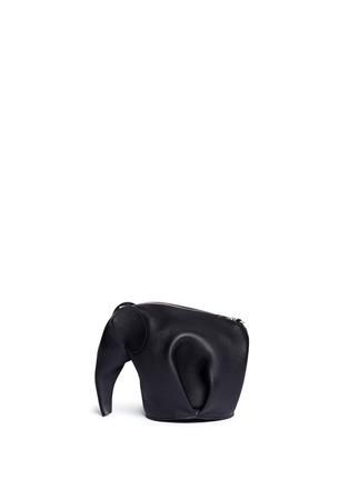 Back View - Click To Enlarge - Loewe - 'Elephant Minibag' leather shoulder bag