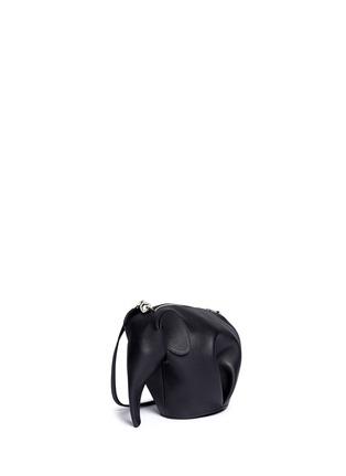Front View - Click To Enlarge - Loewe - 'Elephant Minibag' leather shoulder bag