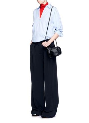 Figure View - Click To Enlarge - Loewe - 'Elephant Minibag' leather shoulder bag