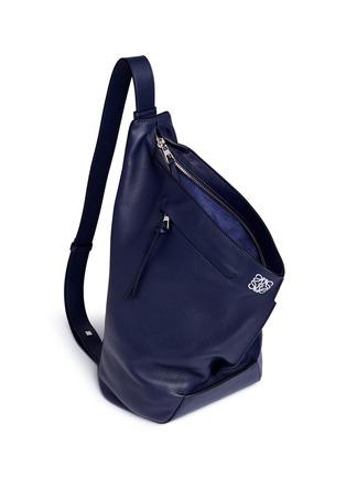 Detail View - Click To Enlarge - Loewe - 'Anton' calfskin leather backpack