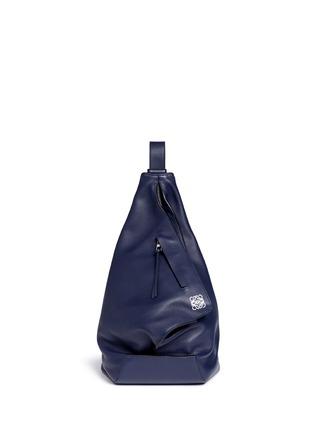 Main View - Click To Enlarge - Loewe - 'Anton' calfskin leather backpack