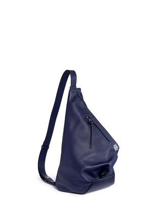 Figure View - Click To Enlarge - Loewe - 'Anton' calfskin leather backpack